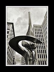 Am Potsdamer Platz bei Sauwetter