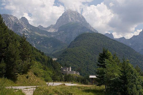 Am Predilpass - Slowenien