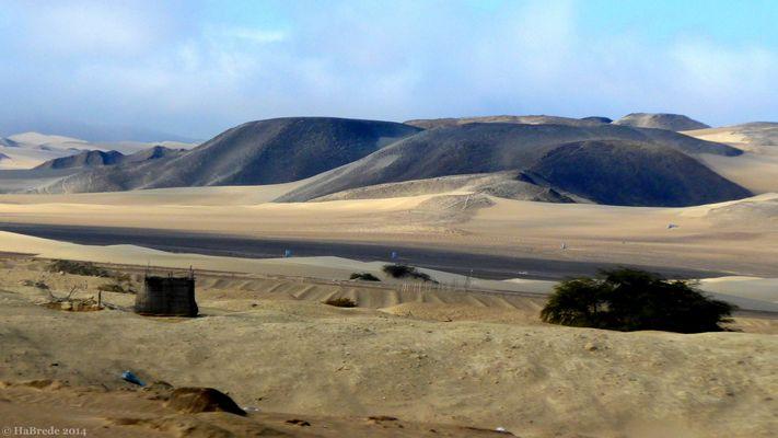 Am Rand der Atacamawüste