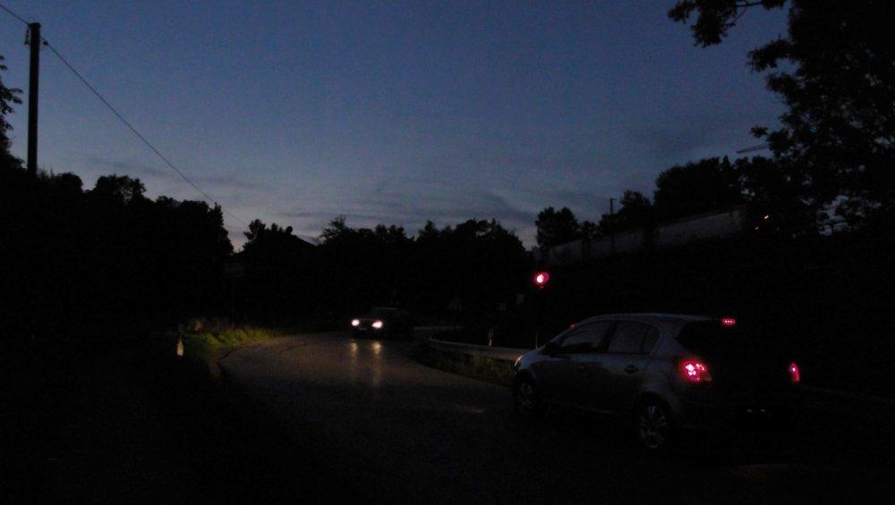 Am Rande der Nacht ...