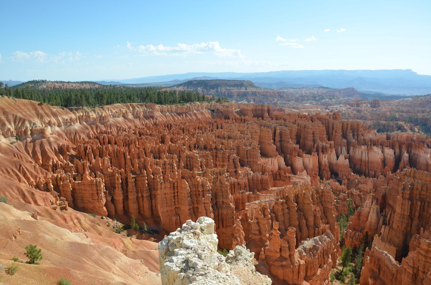 Am Rande des Bryce Canyon