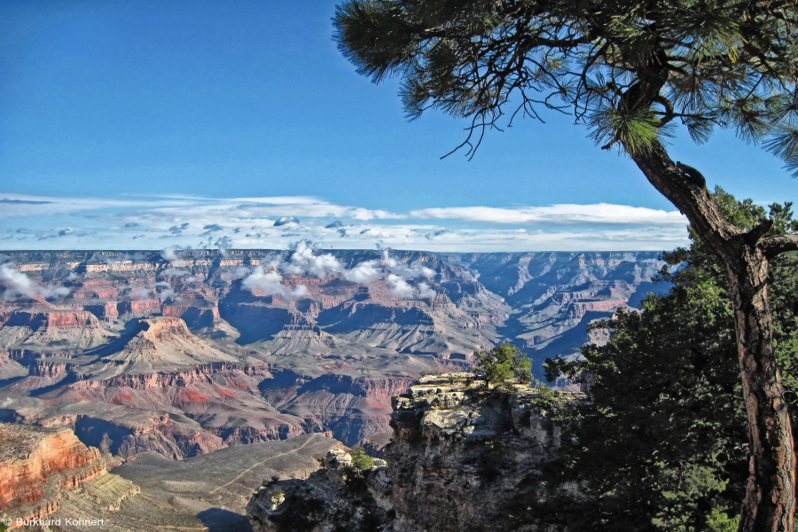 Am Rande des Grand Canyons