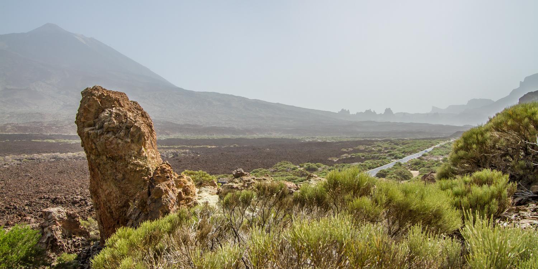 Am Rande des Kraters
