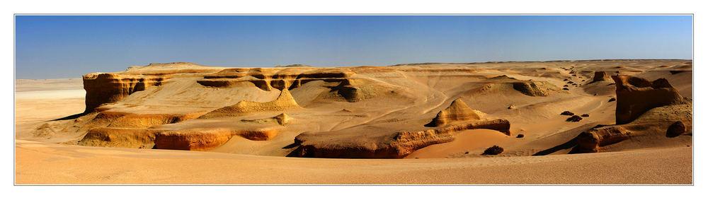 Am Rande des Sandmeers