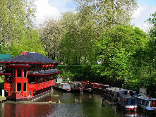 Am Regents Canal
