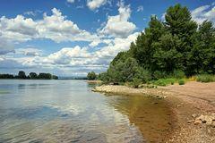 Am Rhein bei Ginsheim - Nonnenaue