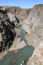 Am Rio Diamante (Provinz Mendoza/Argentinien)