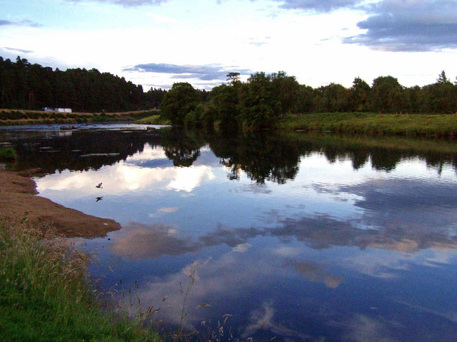 Am River Spey, ...