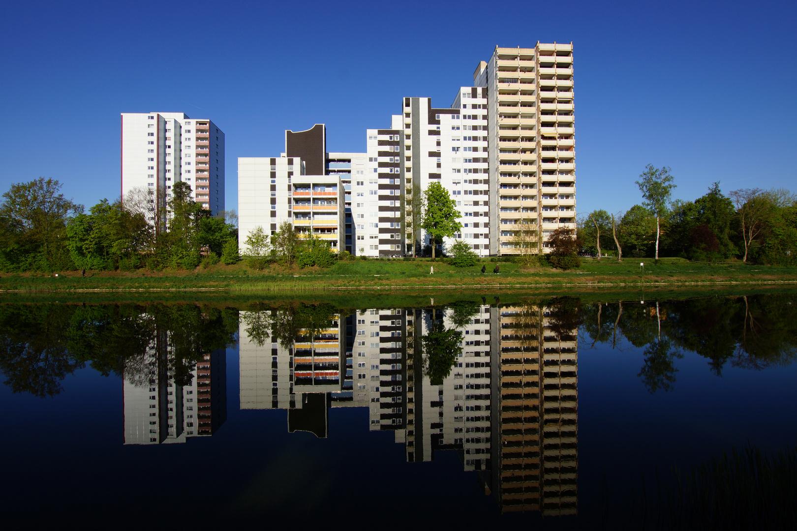Am RMD Kanal in Erlangen