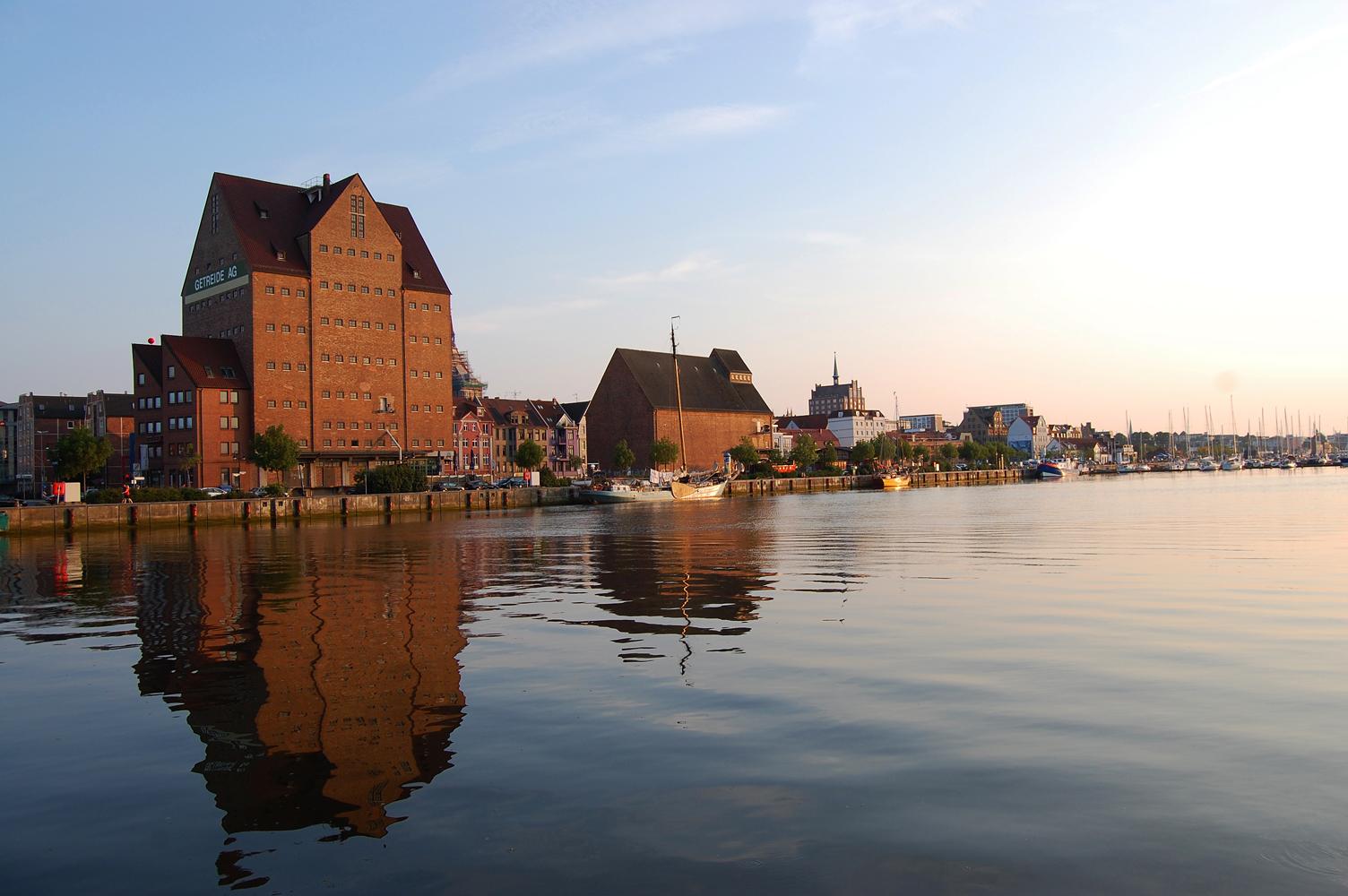 Am Rostocker Stadthafen