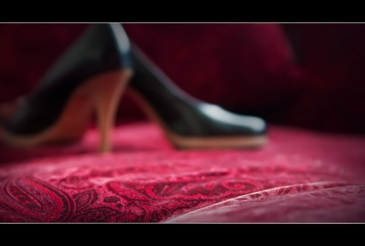 Am roten Sofa