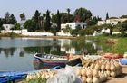 Am Rundhafen von Karthago