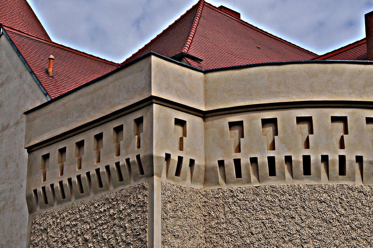 Am Schloss Stolpe