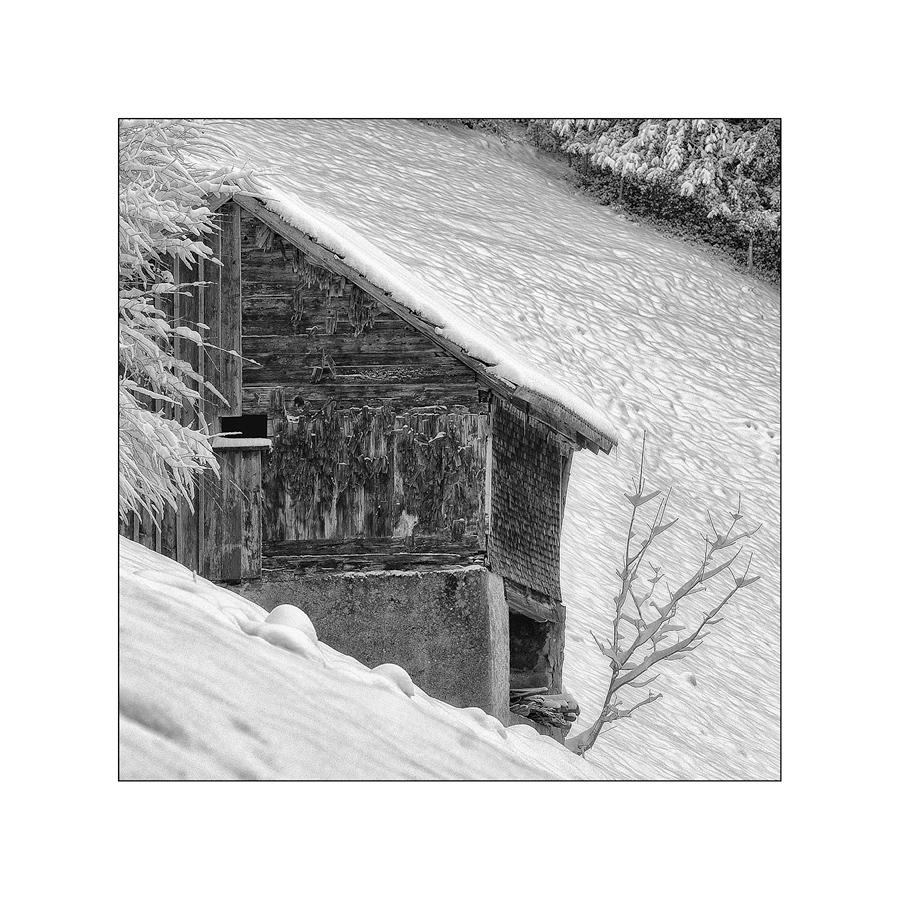 Am Schneehang
