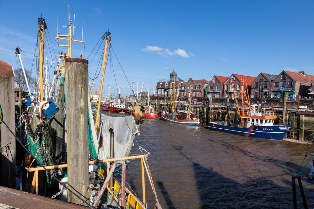 Am schönsten Hafen an der Nordsee