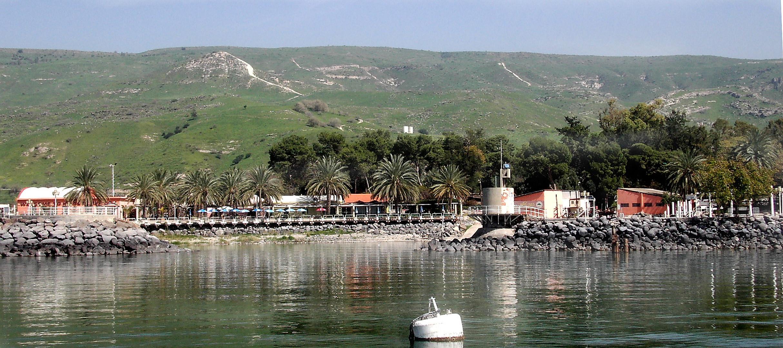 Am See Genezareth - Kibbuz Ein-Gev am Südrand der Golanhöhen