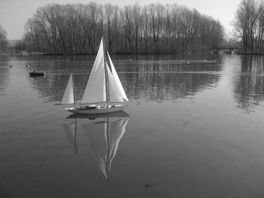 Am Sonntag will mein Süßer mit mir segeln gehn