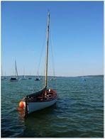 Am Sonntag will mein süßer mit mir segeln gehn..........