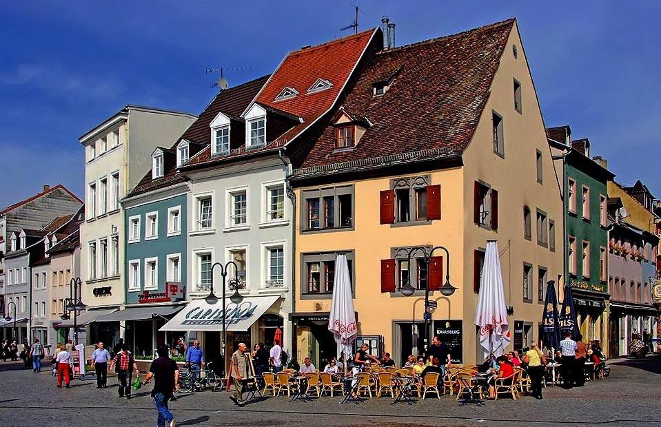 am st johanner markt in saarbr cken foto bild deutschland europe saarland bilder auf. Black Bedroom Furniture Sets. Home Design Ideas