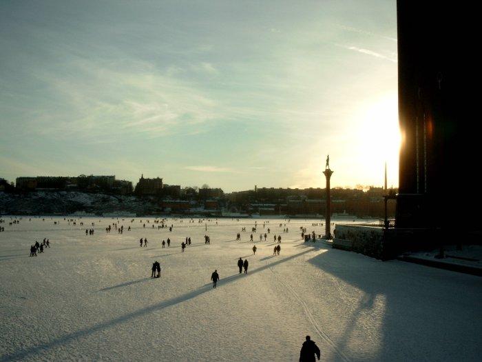 am Stadshuset in Stockholm