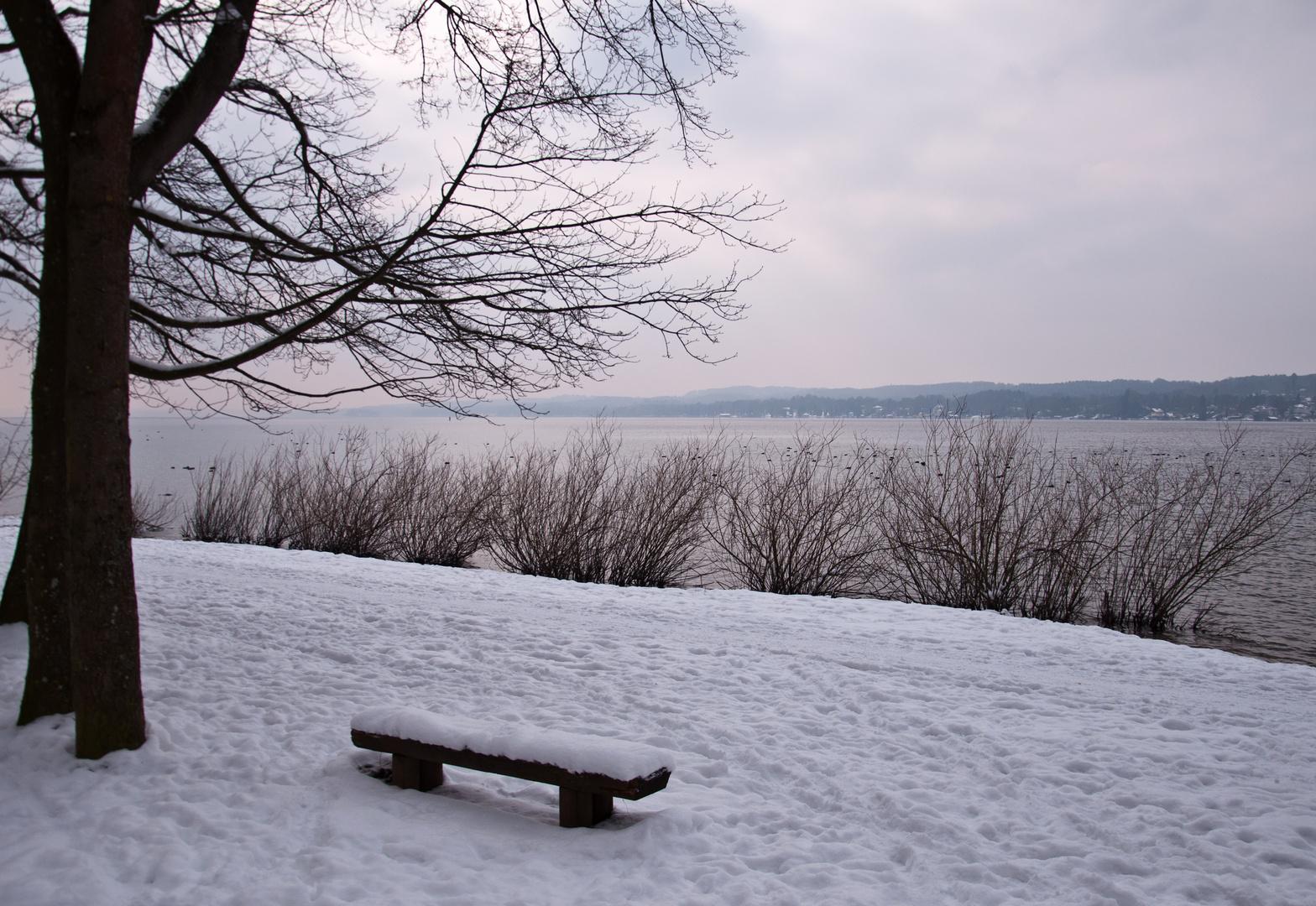 Am Starnberger See ...