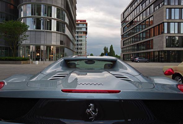 Am Start F wie Ferrari...