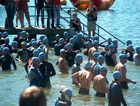'Am Start', Triathlon CH-Uster