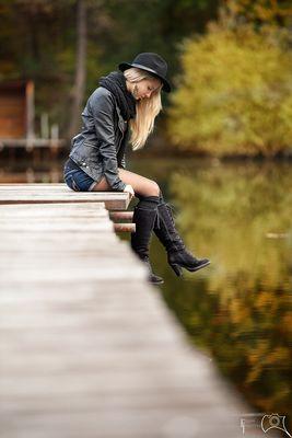 Am Steg..... Herbstshooting mit Tanja