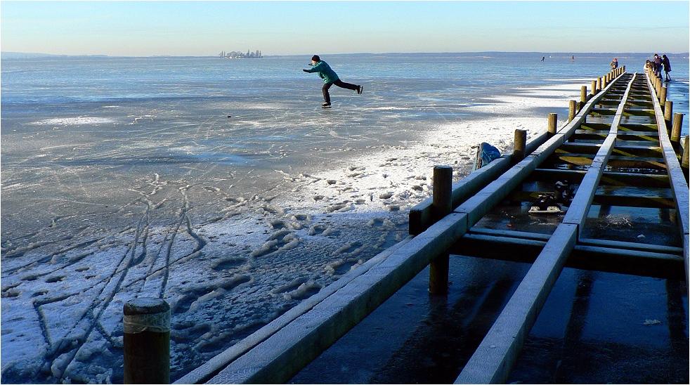 Am Steinhuder (Eis-)Meer