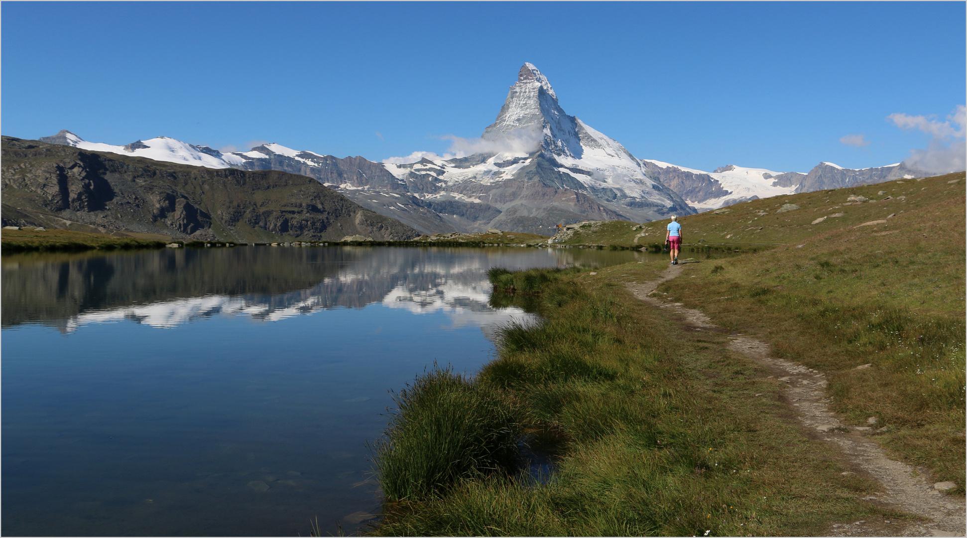 am Stellisee mit Matterhorn (2)