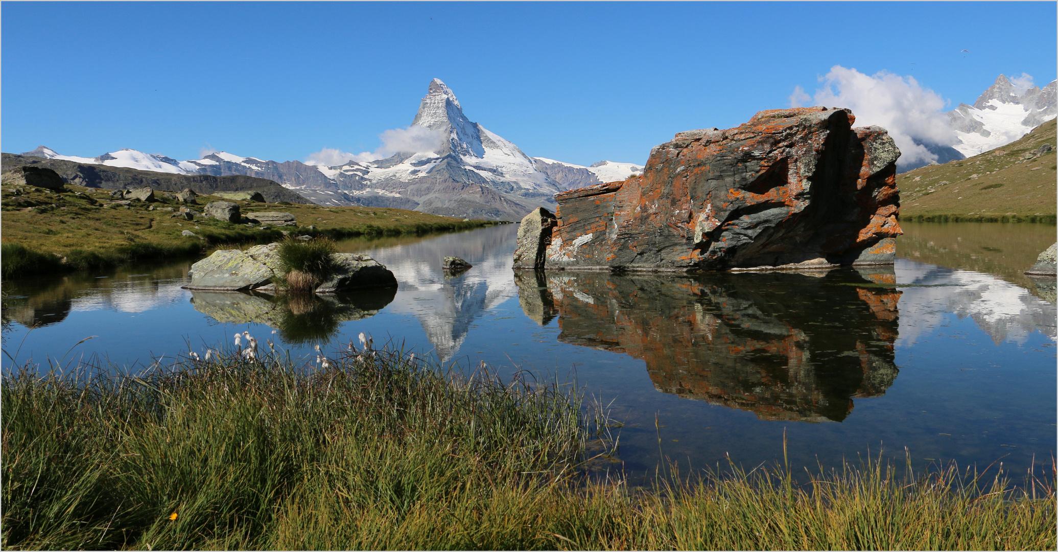 am Stellisee mit Matterhorn (3)