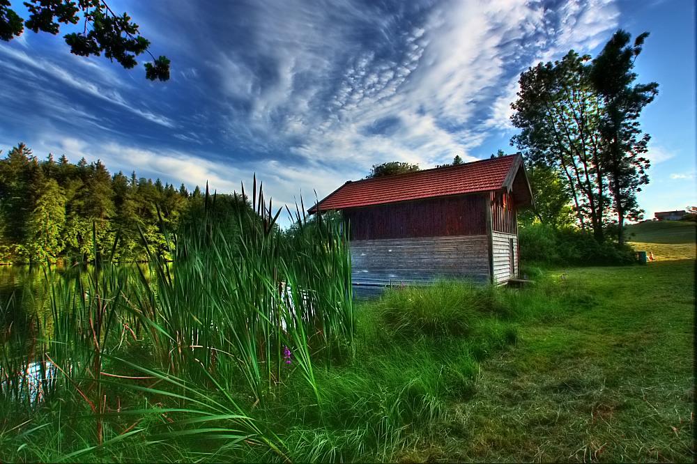 Am Stettener See - Das Bootshaus