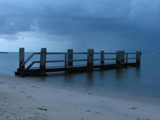 ...am strand...