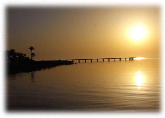 Am Strand auf Djerba - Sonnenaufgang
