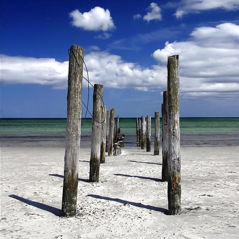am Strand auf Rügen.....