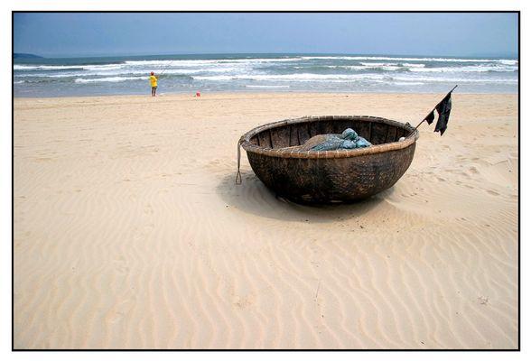 Am Strand bei Da Nang - Vietnam