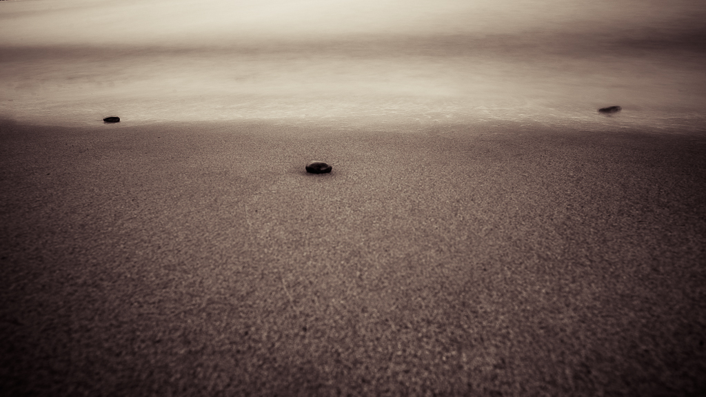 ..am strand..
