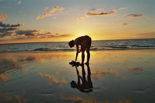 Am Strand, Darwin, NT, Australien