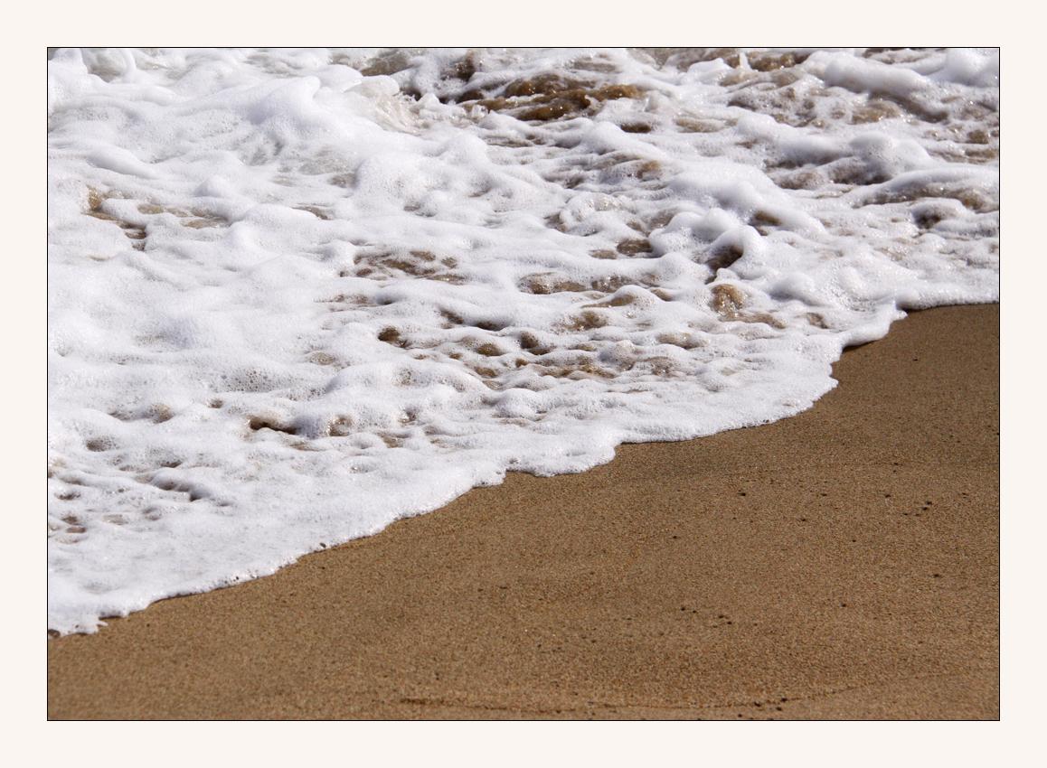 am Strand in Barcelon 3