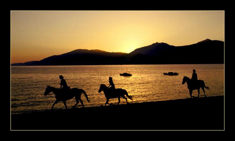 Am Strand von Ajaccio, Korsika