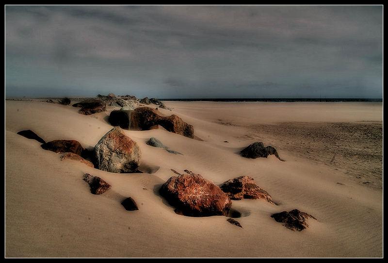 Am Strand von Aston Bay (Südafrika)
