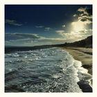 Am Strand von Bournemouth