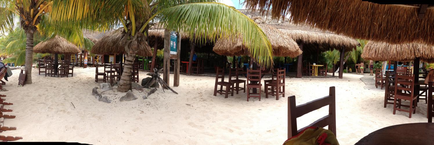 Am Strand von Cozumel