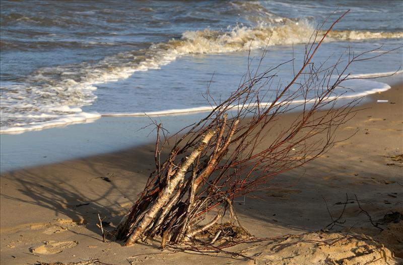 Am Strand von Duhnen/Cuxhaven