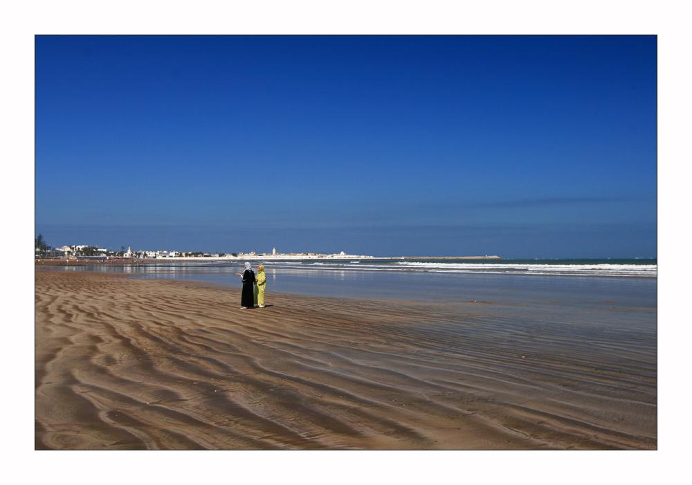 am Strand von El Jadida
