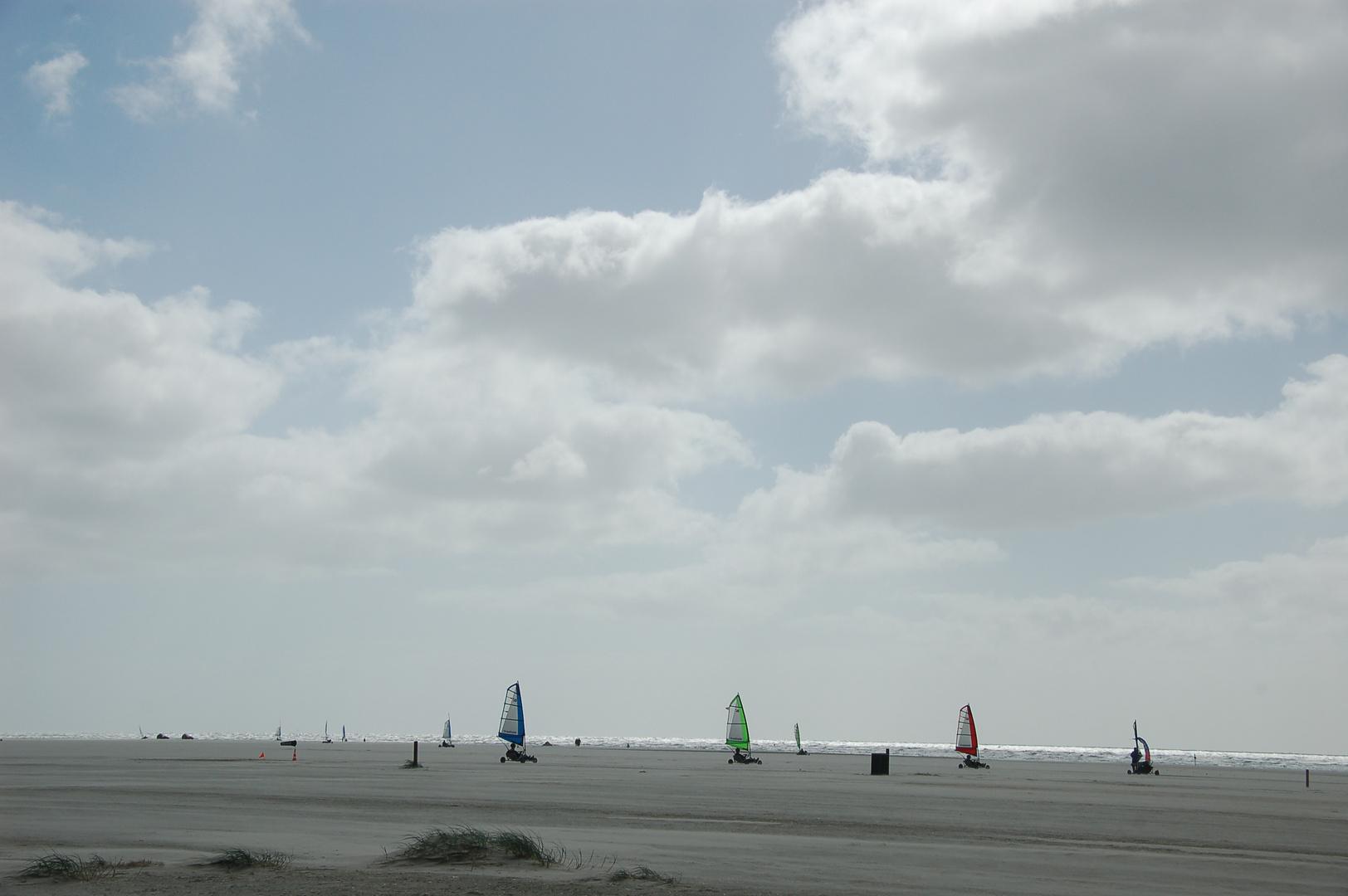 Am Strand von Fanö
