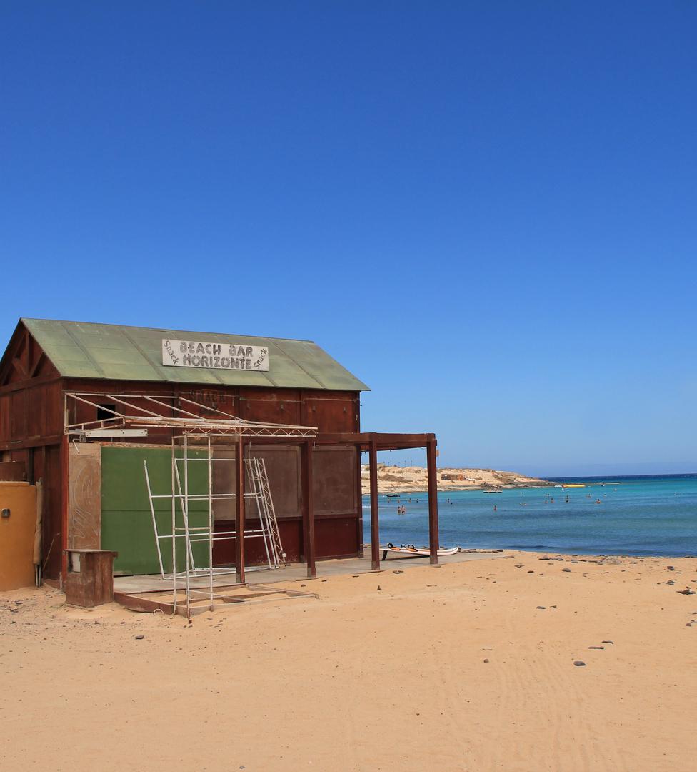 Am Strand von Fuerteventura