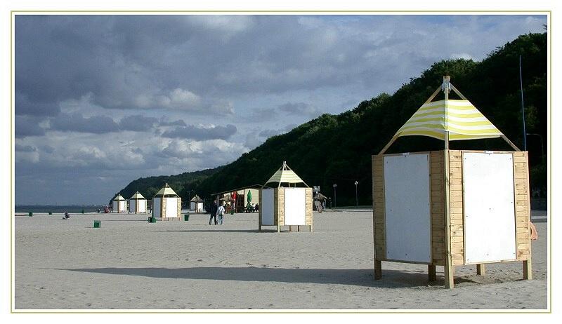 Am Strand von GDYNIA