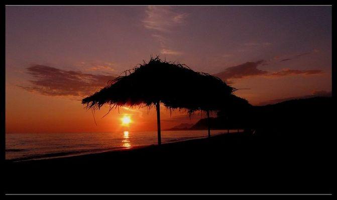 Am Strand von Griechenland