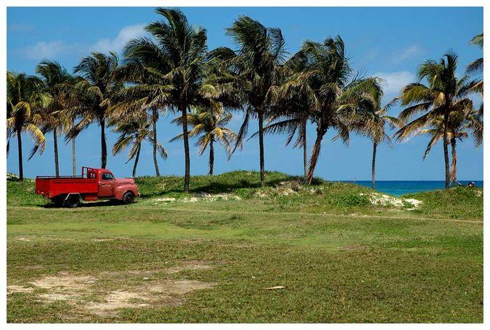 Am Strand von Guanabo/Havanna